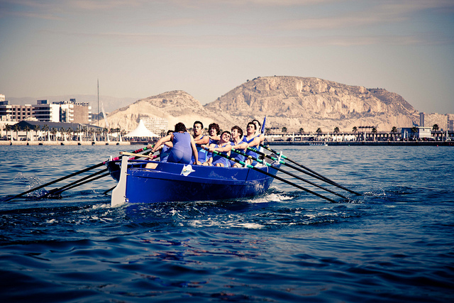 Rowing Alicante