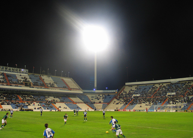 Football stadium Hercules FC Alicante